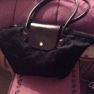 Like new black tote bag